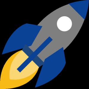 startup logo home