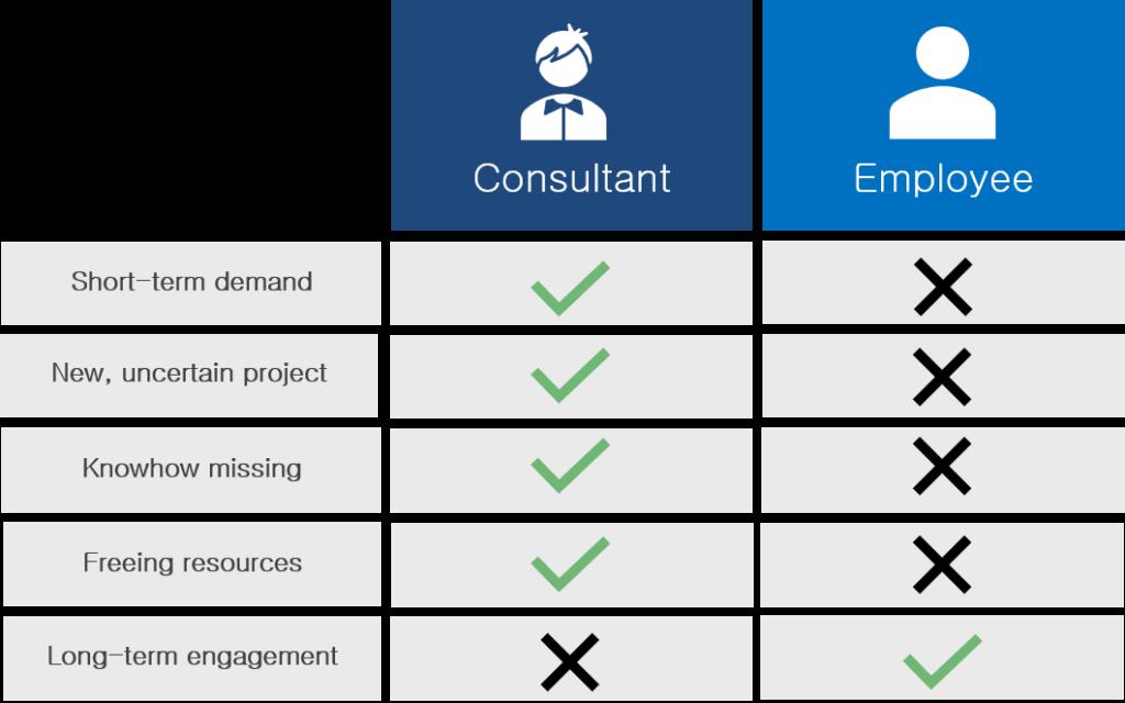 consultant employee