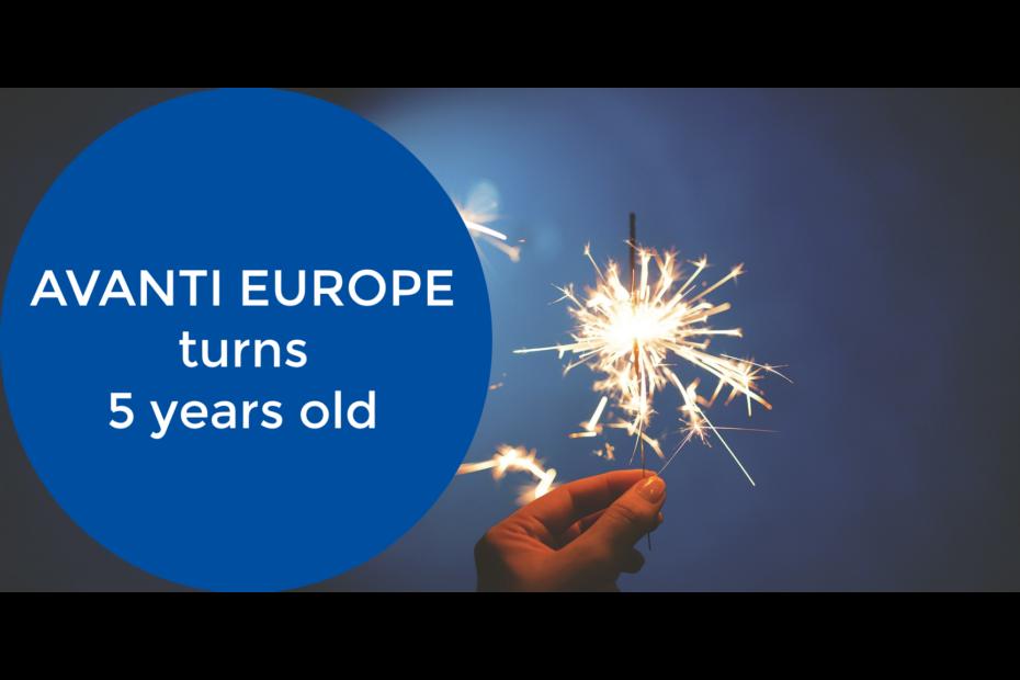 celebrating 5 years Avanti Europe_